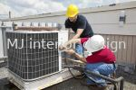 Servicing of copper piping insulation Air conditioning (service and repair) Renovation Work