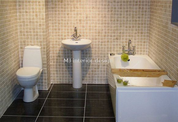 Bathrooms - waterproofing, tiling, plumbing and etc