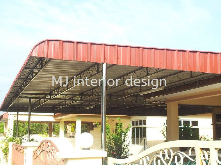Awning And Roofing Grill Renovation Work Penang Gelugor Malaysia