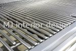 Stainless steel grill Grill Renovation Work