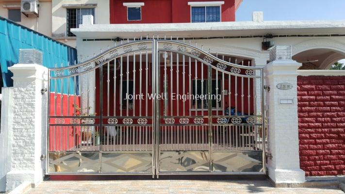 S Shape Main Gate