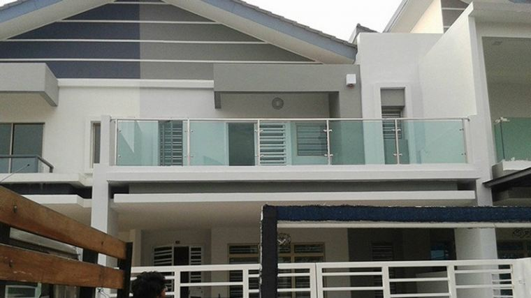 Impian Emas Stainless Steel Glass Fencing