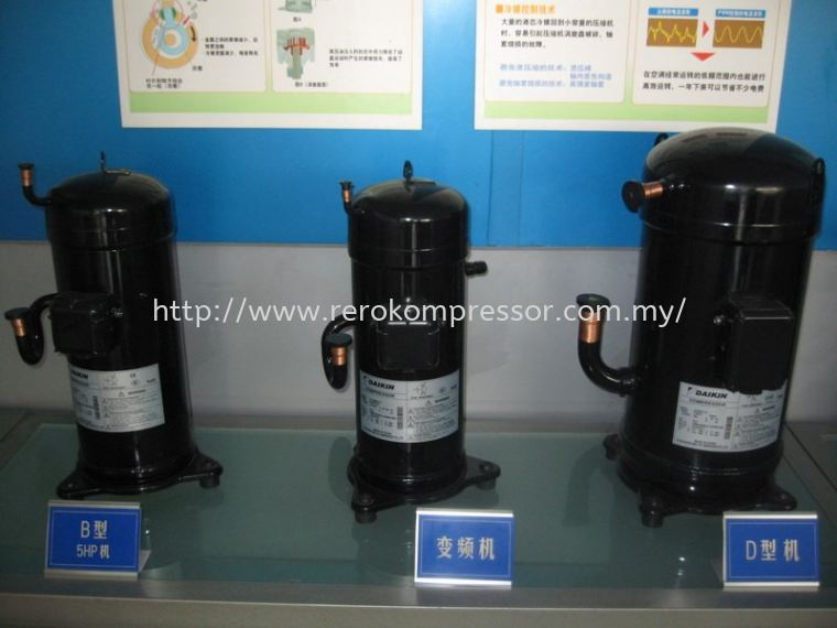 Daikin Scroll Compressor Series