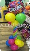 Congratulation Column Balloon Decoration