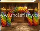 Welcome Arch & Column Balloon Decoration