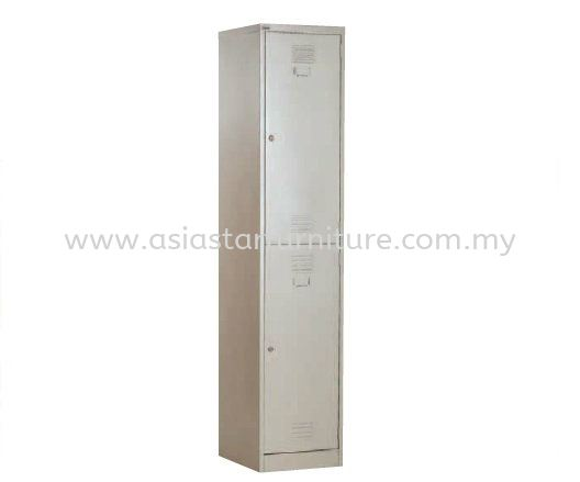 A114B 2 COMPARTMENT STEEL LOCKER