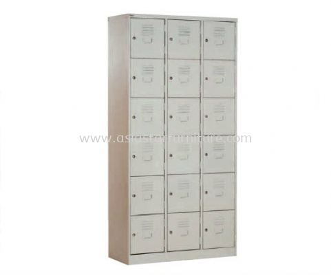 A115-A 18 COMPARTMENT STEEL LOCKER