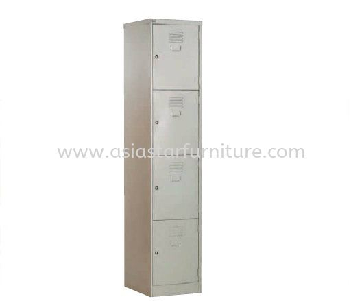 A114C 4 COMPARTMENT STEEL LOCKER