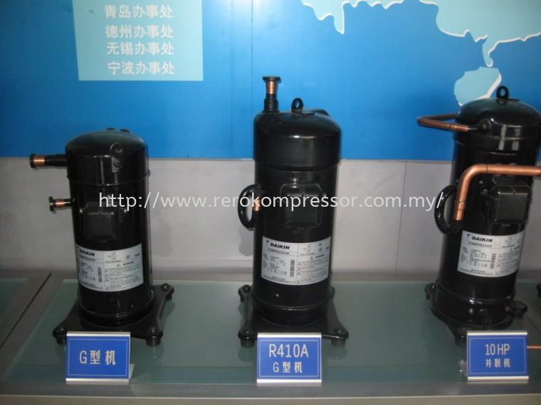 Daikin Scroll Compressor Series ( G-Series & Tandem)