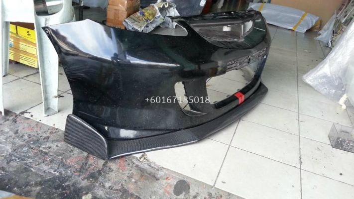 2003 2004 2005 2006 2007 honda fit jazz gd front lip diffuser js racing for jazz fit gd type s add on add on upgrade performance look real carbon fiber frp material new set