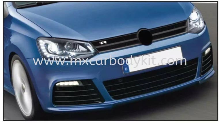 VOLKSWAGEN POLO MK5 2009 & ABOVE R-LINE LOOK FRONT BUMPER POLO SEDAN VOLKSWAGEN
