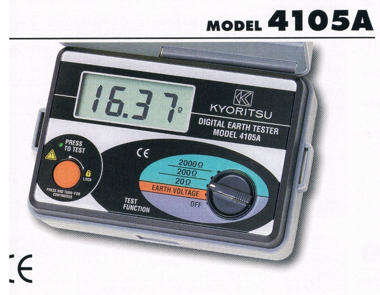 kyoritsu 4015A  Kyoritsu Tester Meter