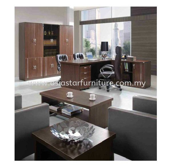 ZEBONI EXECUTIVE DIRECTOR OFFICE TABLE WITH SIDE OFFICE CABINET (INNER)