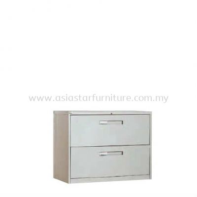 2 DRAWER LATERAL FILLING CABINET