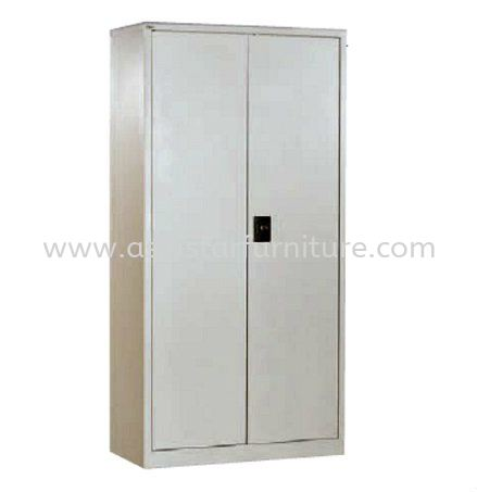 A118 FULL HIGH CUPBOARD WITH STEEL SWING DOOR