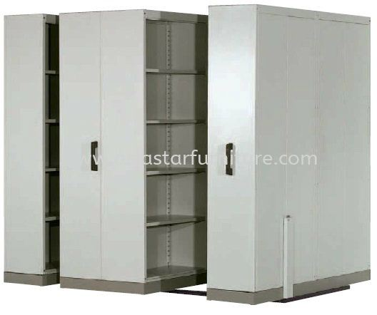 4 BAY HAND PUSH MOBILE COMPACTOR - Top 10 Best Budget Mobile Compactor | Mobile Compactor Ativo | Mobile Compactor Pandan Prima | Mobile Compactor Mayang Sari