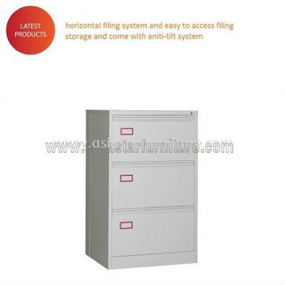 Anti Tilt 3 DRAWER LATERAL CABINET