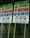 information factory sign  or production sign Industrial Safety Sign