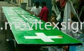 ISO Seafty First in 20 ft /30ft to40ft or even at 2ft x8ft  Safety Sign Sample Industry Safety Sign and Symbols Image
