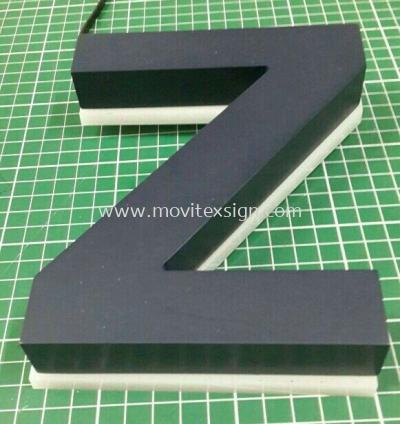Architecture laser cut acrylic 3D n Led backlite