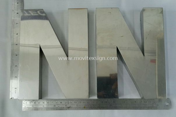 for sale stainless steel 3D lettering