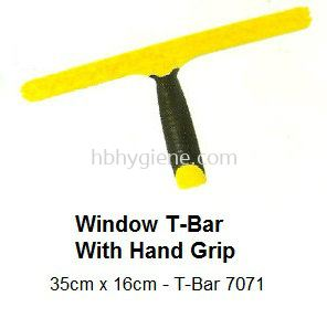 Window T-Bar With Hand Grip