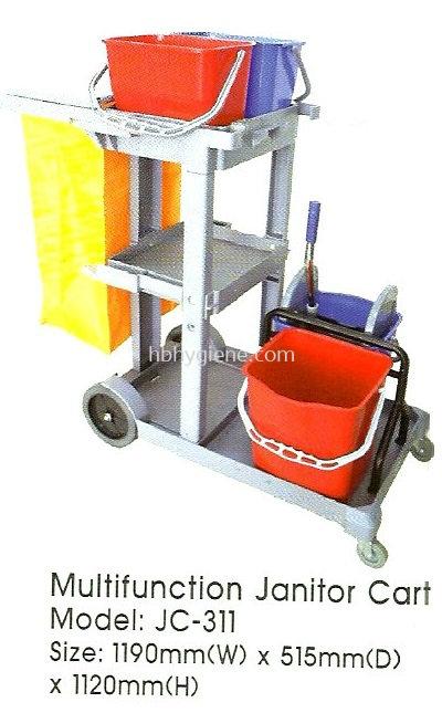 Multifunction Janitor Cart