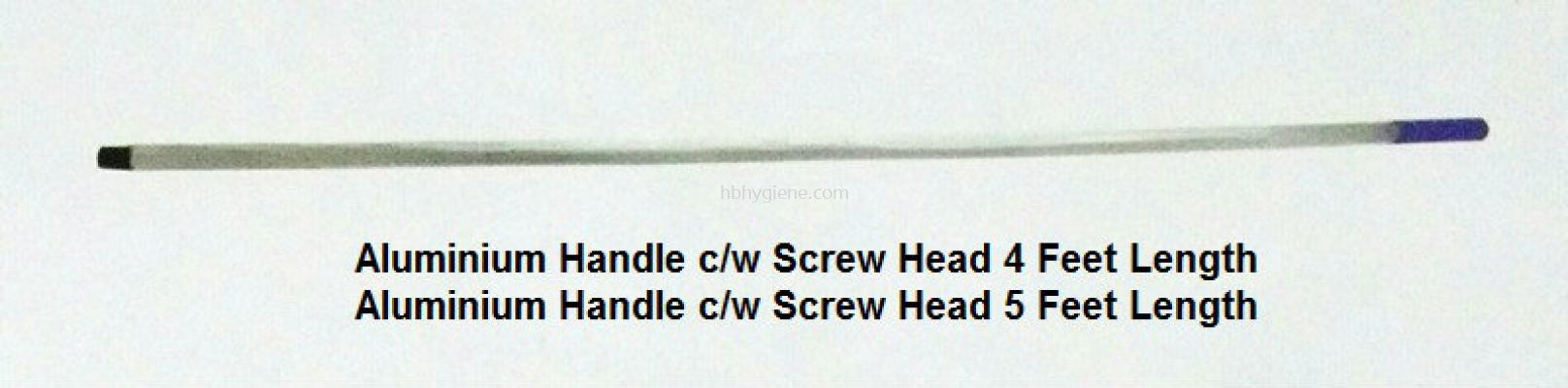 Aluminium Handle c/w Screw Head