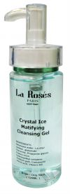 Crystal Ice Mattifying Cleansing Gel Cleanser