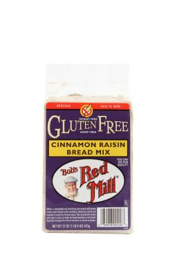 Gluten Free Cinnamon Raisin Bread Mix