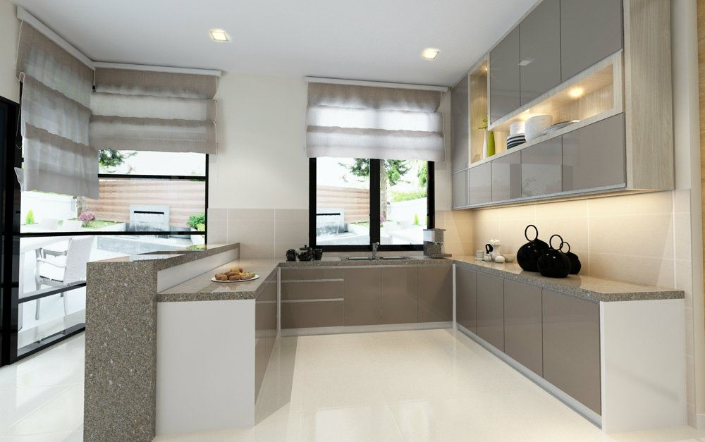 Dry Kitchen Modern Contemporary Interior Design For Mr Wai Bungalow
