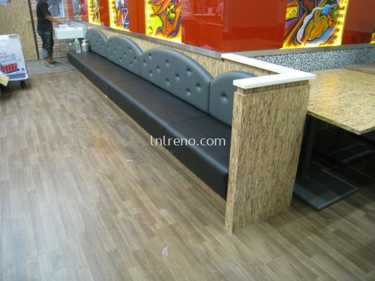 We are specialist in bench seat / booth seat in Malaysia (FREE QUOTATION)