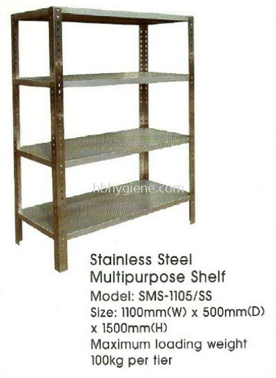 Stainless Steel Multipurpose Shelf