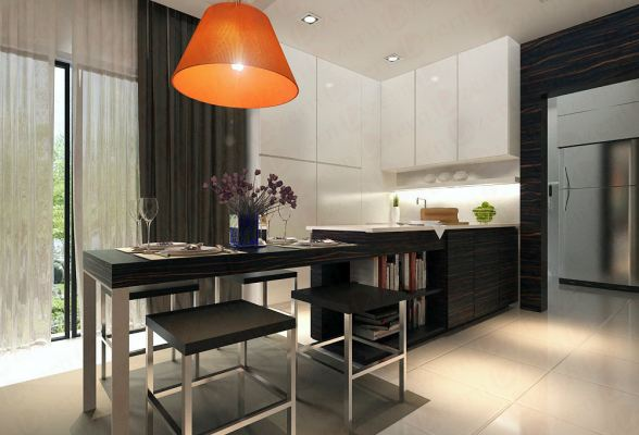 Dining & Dry Kitchen combination