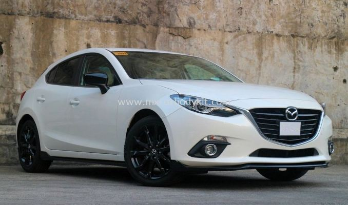MAZDA 3 HATCHBACK 2015 TA DESIGN BODY KIT + SPOILER