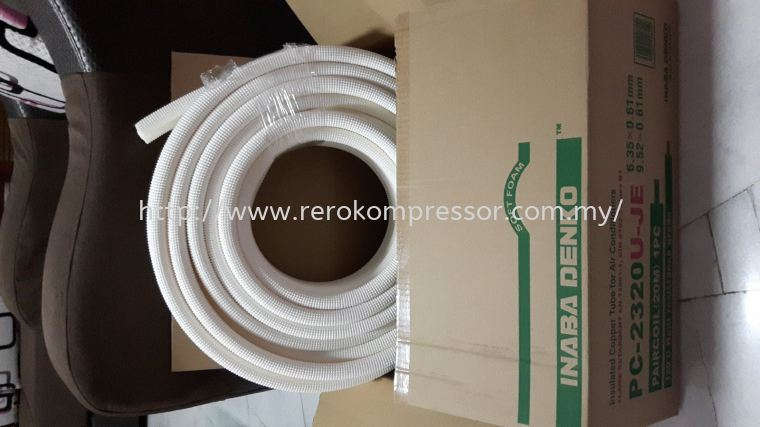 Inaba Denko Preinsulated Tube Model:  PC-2320U-JE