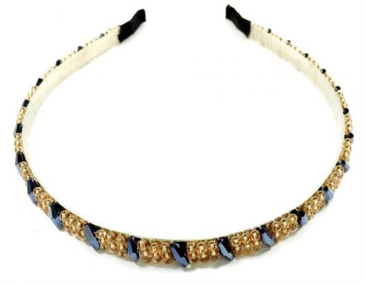 Grand Beads Hair Band (Assorted)