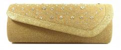 Designer Party Clutch (Gold) Party Clutch Clutches