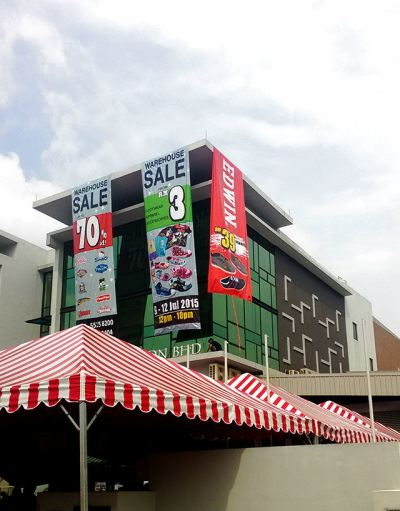Giant Banner Warehouse sale 2