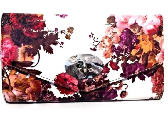 Floral Design Clutch (Multicolours)