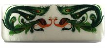 Peacock Designer Party Clutch (Cream) Party Clutch Clutches
