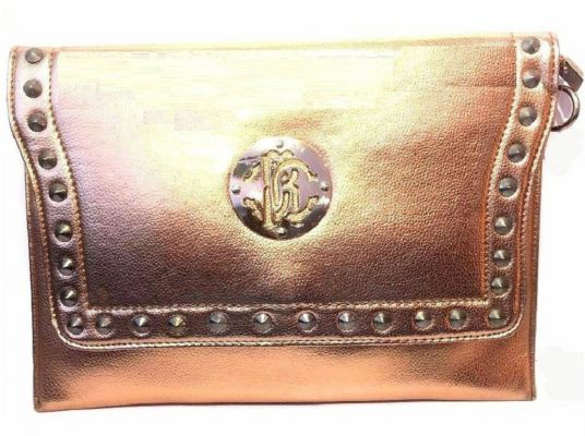 PU Leather Envelope Clutch (Gold)