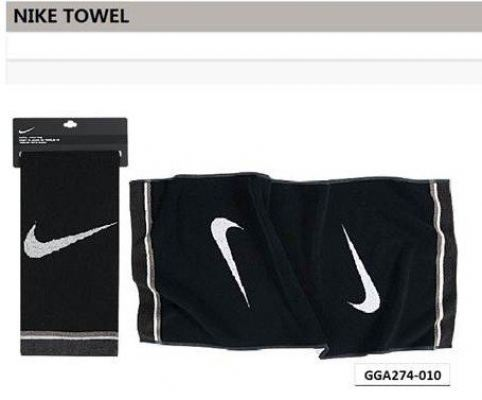 "Nike Golf 16"" x 24"" Tri-Fold Towel Black"