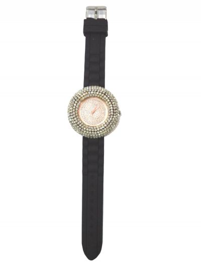 Classic Full Stone Watches (Black)