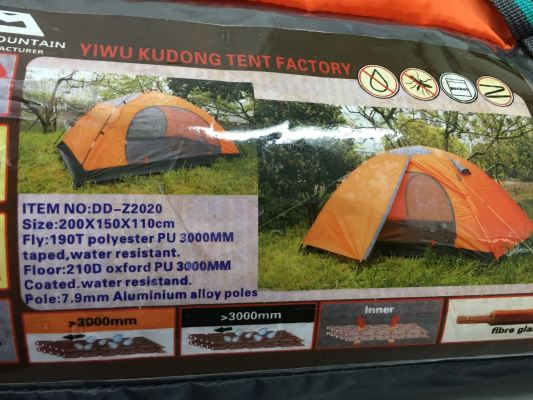 Tent  For Two Person Aluminum Alloy Poles