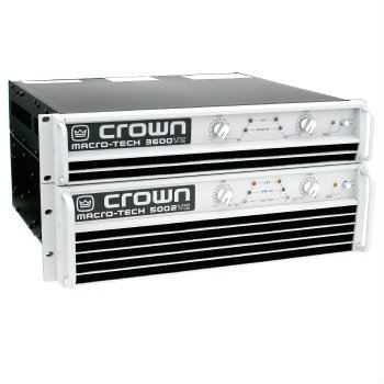 Crown Audio Power Amplifier MA-1202