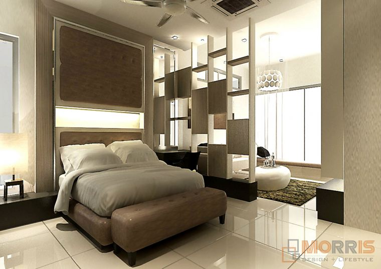 Divider Feature Design Taman Gaya TAMAN GAYA RESIDENTIAL RENOVATION N INTERIOR DESIGN IN JOHOR