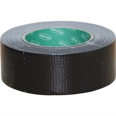 AVN9813250K - 50mmx10M BLACK CLOTH TAPE