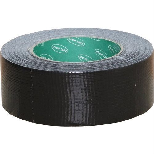AVN9813250K - 50mmx10M BLACK CLOTH TAPE Adhesives and Sealants Cromwell Tools