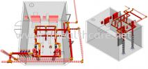 SR200 Clean Agent Fire Suppression System Fire Fighting System